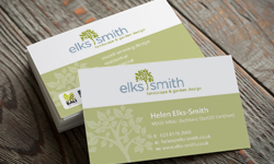 Elks-smith business card and folder