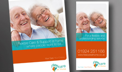 Flexicare brochure design