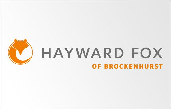 Hayward Fox logo design