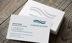 Stamford Maritime logo and stationery