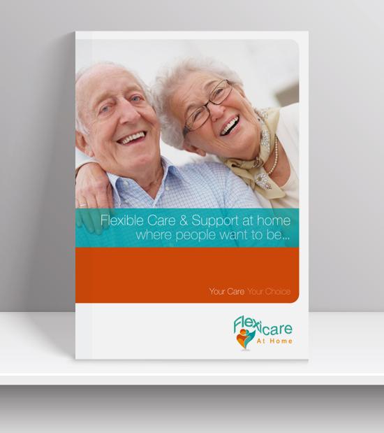 Flexicare brochure design