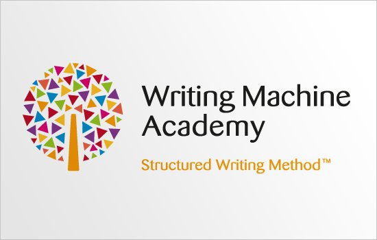 Writing Machine Academy logo design